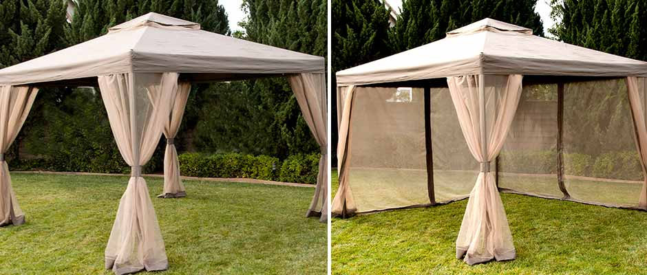 Provide Shade In Your Outdoor Space With One Of The Many Garden Houses And Gazebos Offered By Pacific Casual